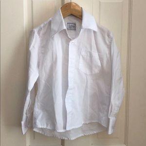 Boys Lito Children's Wear white button down shirt